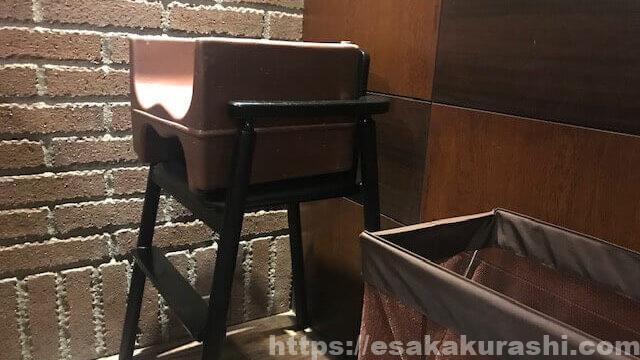 星乃珈琲子供用の椅子
