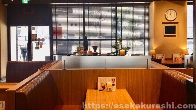 江坂カフェ三番館のBOX席