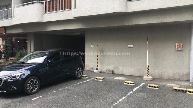 紅葉庵(もみじあん)の駐車場