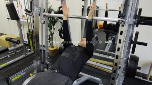 胸筋のトレーニング