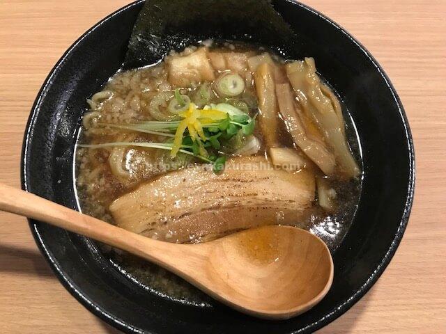 ラーメン岩将魚介醤油ラーメン
