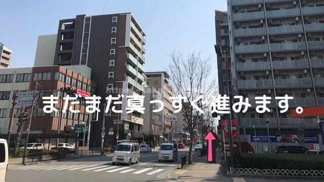 江坂駅からyeepaまでの行き方 (5)