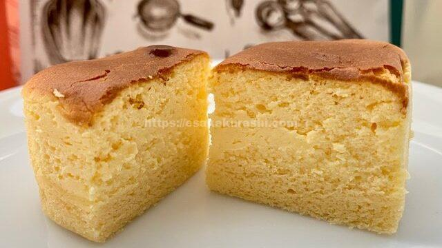 シェ・ナカツカの半熟チーズケーキ