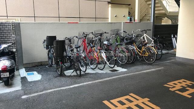 yeepa駐輪場