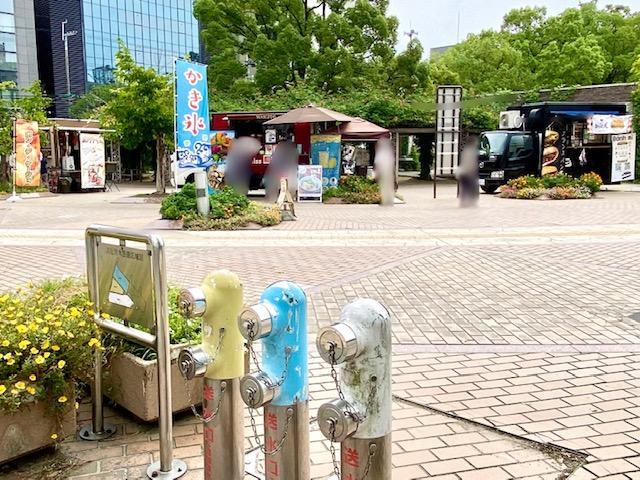江坂公園のキッチンカー
